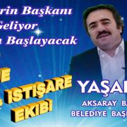 """Bağımsız belediye başkan adayı Yaşar Ar """"Seçmenler projelerimizi çok beğeniyorlar"""""""