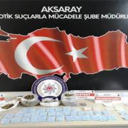 Aksaray Polisi ve Jandarma ekiplerinden uyuşturucu operasyonu