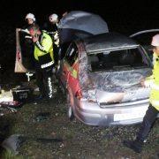 Aksaray Nevşehir yolunda kaza 1 yaralı