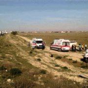 Tarım İşçilerini taşıyan minibüs devrildi 13 yaralı