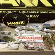Narkotik Ekipleri Uyuşturucu Satıcılarına göz açtırmıyor