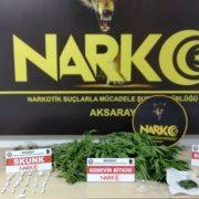 uyuşturucu operasyonu 4 gözaltı 1 tutuklama