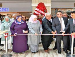 Bakım ve Rehabilitasyon Merkezi geleneksel el sanatları sergisi açıldı