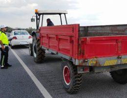 Ülke Genelinde Traktör ve Römorklu araçlar denetlendi