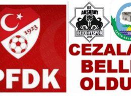 Olaylı Futbol Musabasından sonra 2 kulübün cezaları belli oldu