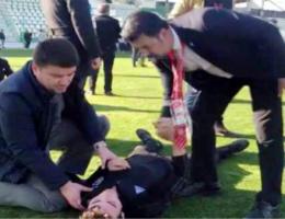 """Başkan Dinçer """"Sporda şiddet hiçbir zaman kabul edilemez"""""""