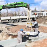 Aksaray Belediyesi Yağmur Suyu Hattı Çalışmalarını Sürdürüyor