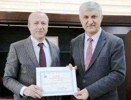 Prof. Dr. Mustafa Sönmez, ASÜ Mühendislik Fakültesi Dekanlığına atandı