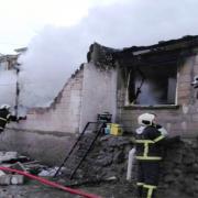 Aksaray da müstakil evde soba patladı ev kullanılamaz hale geldi