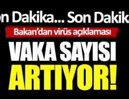 Türkiye'de vaka sayısı 947 can kaybı sayısı ise 21 oldu.