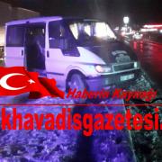 Aksaray Adana Yolunda kaza 3 kişi yaralı