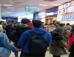 3 hafta tatil otobüs terminalinde yoğunluğa yol açtı
