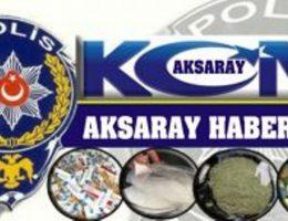 Aksaray'da Uyuşturucu operasyonu 4 tutuklama