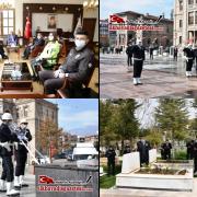 Aksaray'da Türk Polis Teşkilatının 175. kuruluş yıl dönümü kutlandı