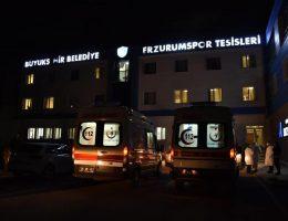 Erzurum Spor Kulübünde 11 pozitif vaka çıktı