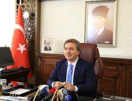 Vali Aydoğdu 30 Ağustos Zafer Bayramı kutlama mesajı yayımladı