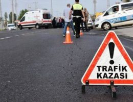 Hafif Ticari araç takla attı sürücü öldü