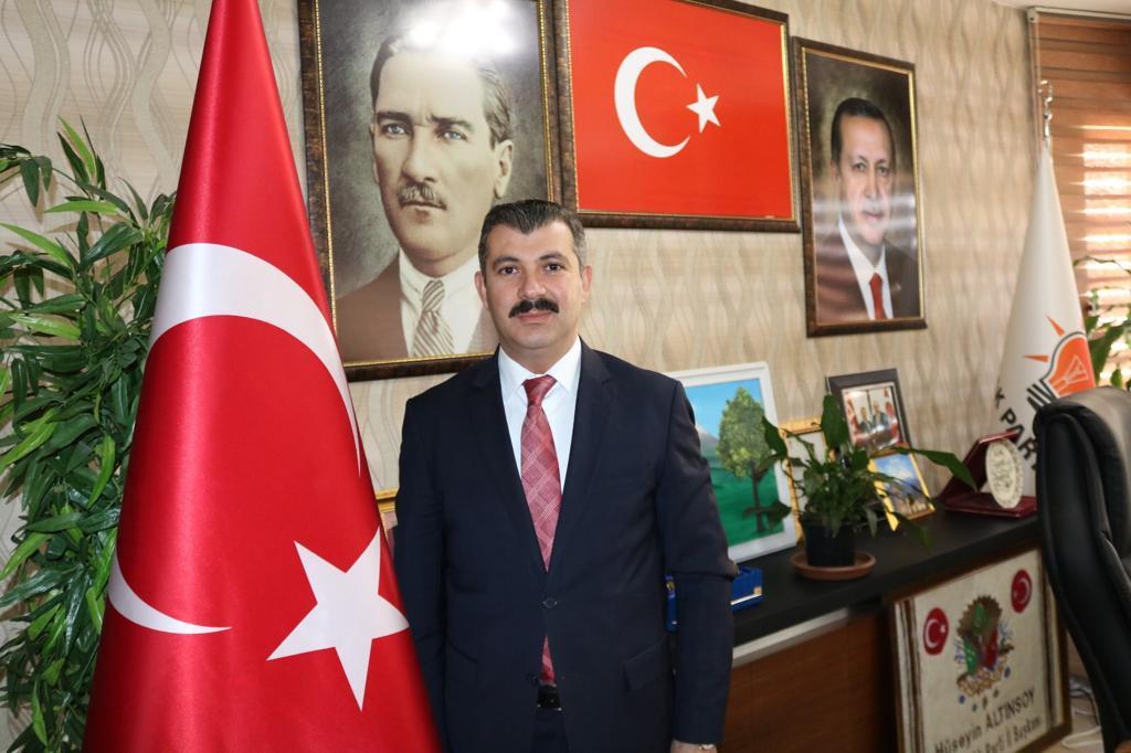 """Başkan Altınsoy, """"15 temmuz, türk milletinin yeniden diriliş destanını yazdığı gündür"""""""