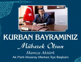 """Hamza Aktürk """"Bayramınız Mübarek Olsun """""""
