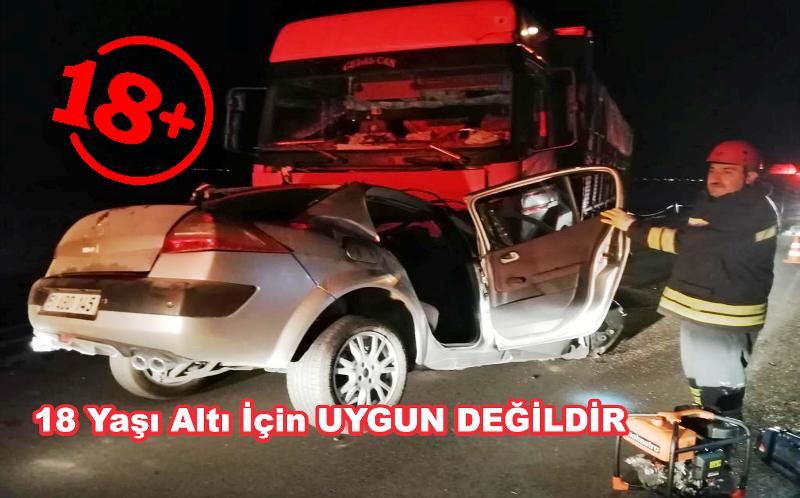 Aksaray Konya yolunda feci kaza 1 ölü