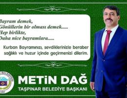 """Metin Dağ""""Bayramınız Mübarek Olsun """""""