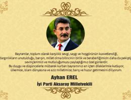 """Ayhan Erel """" Bayramınız Mübarek Olsun"""""""