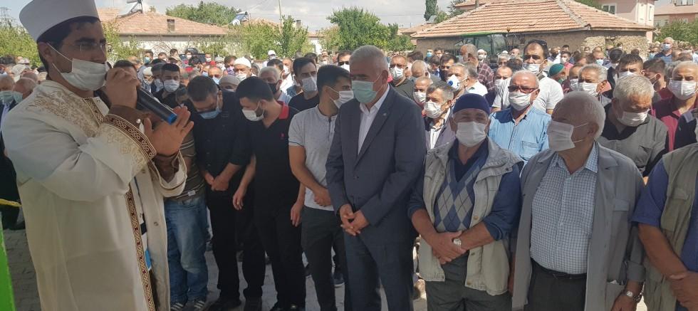 MHP Gülağaç İlçe Başkanı Etem Yenil son yolculuğuna uğurlandı