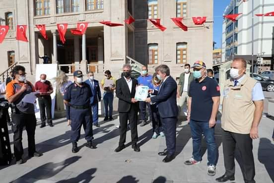 Aksaray Valiliği güvenli alan sertifikası verdi