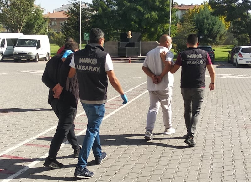 Aksaray polisi uyuşturucuya geçit vermedi