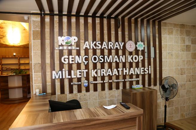 Aksaray'da Millet Kıraathanesi yarın açılıyor