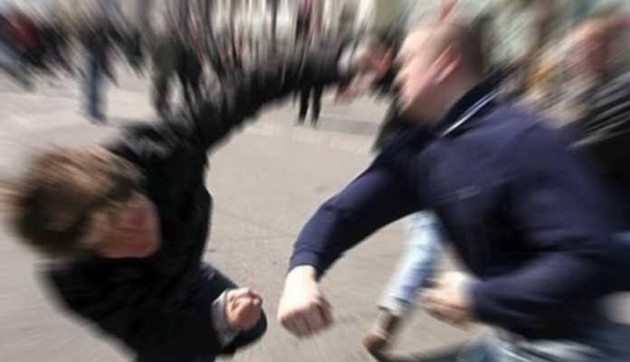 Kavga ihbarına gittiler hırsız yakaladılar