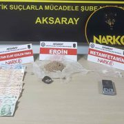 Aksaray Narkotik polisi operasyonlar düzenledi