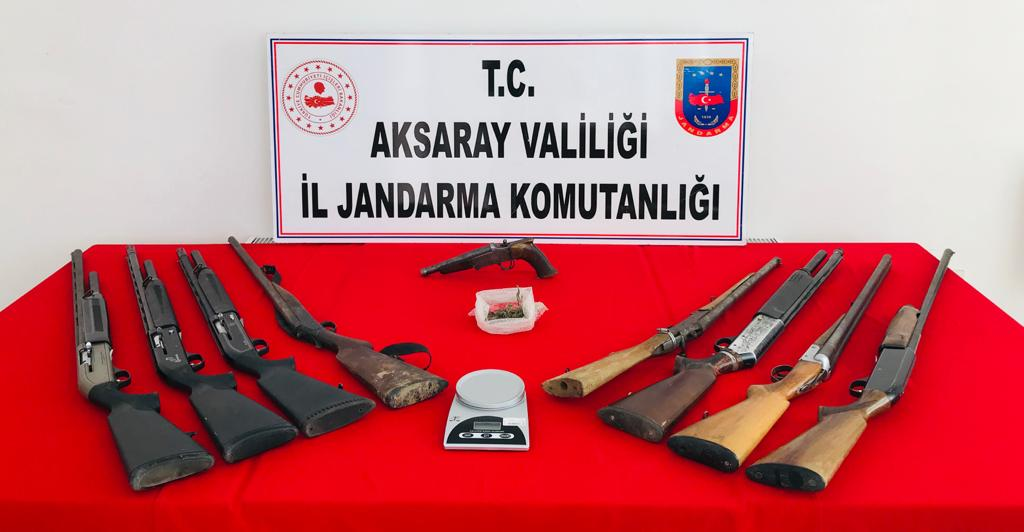 Jandarma'dan operasyon 1 gözaltı