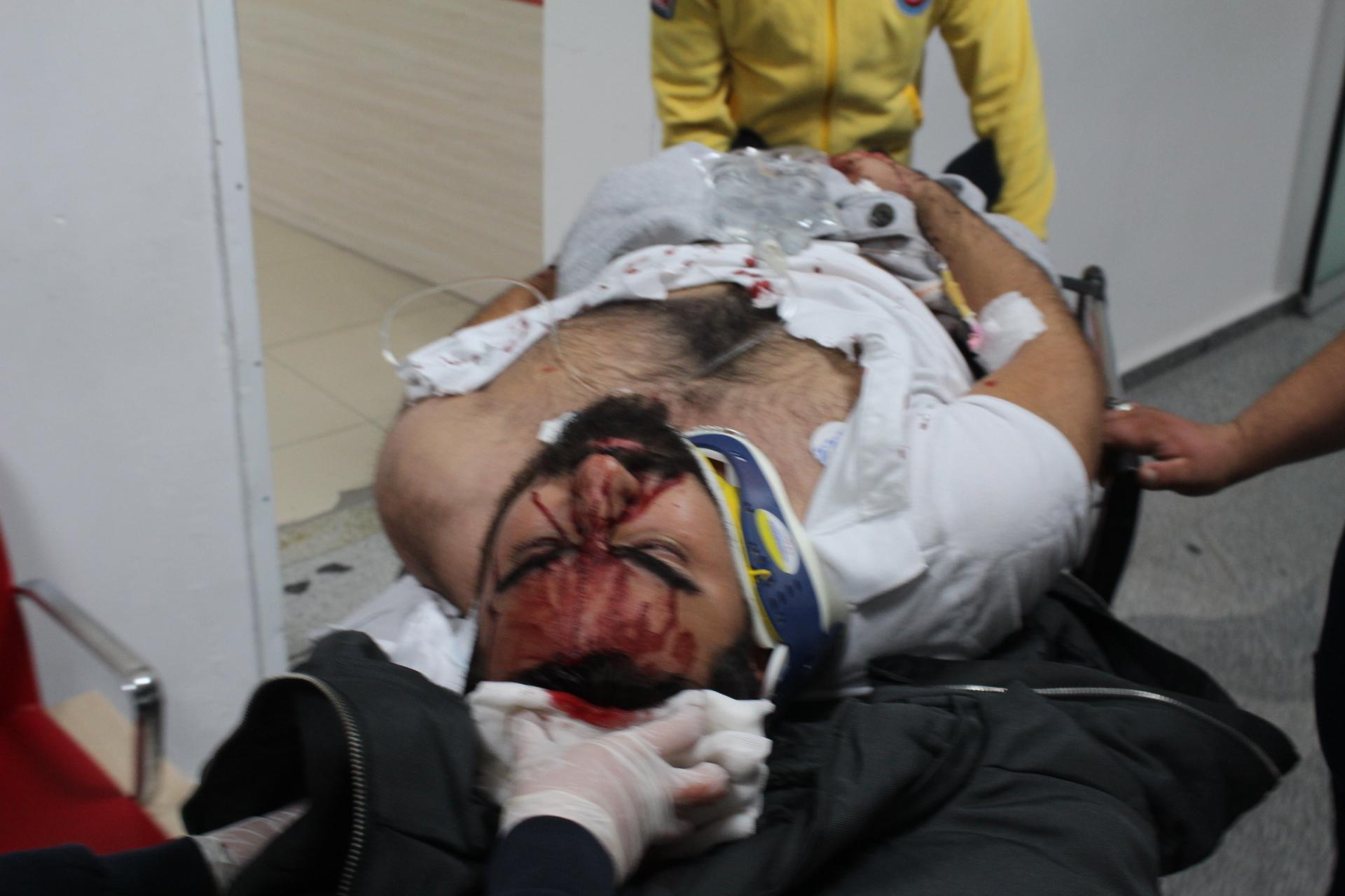 Alkollü sürücü Ters şeritten kavşağa girdi 5 yaralı