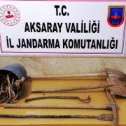 Jandarma'dan Definecilere suç üstü 7 gözaltı