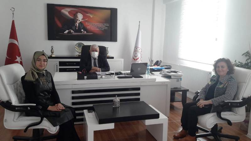 ATTDER İl Başkanı Güden'den İl Müdürü Aktürk'e Ziyaret