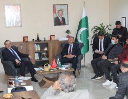 Pakistan Büyükelçi Si SANKON Konya il Başkanlığını ziyaret etti