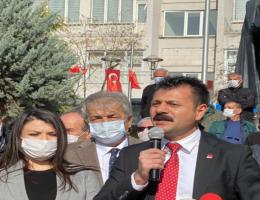 CHP Aksaray İl Örgütünden Alaattin Çakıcıya Sert tepki