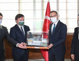 Gençlik ve Spor Bakanına Aksaray'dan Ziyaret