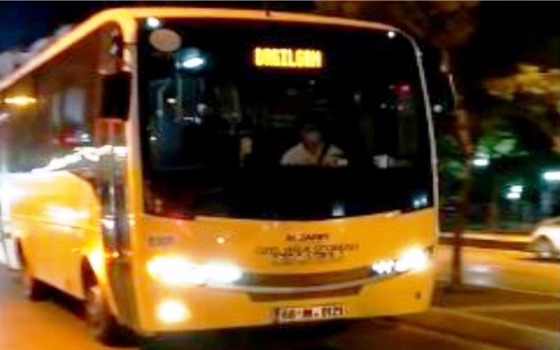 COVİT 19 Denetiminde Aksaray Toplu taşıma otobüsleri tam not aldı