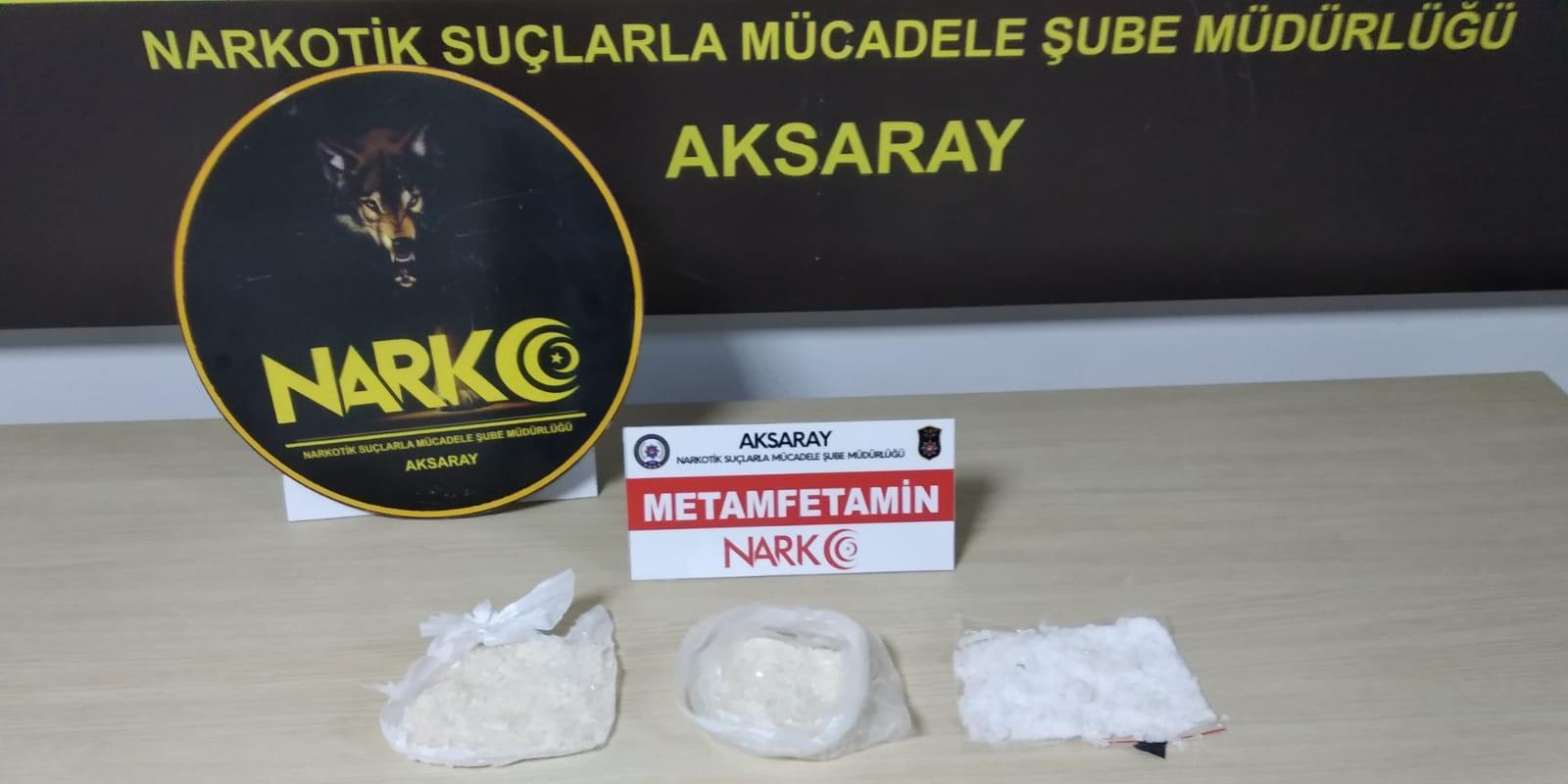 Aksaray Polisinden uyuşturucu operasyonu 6 tutuklama