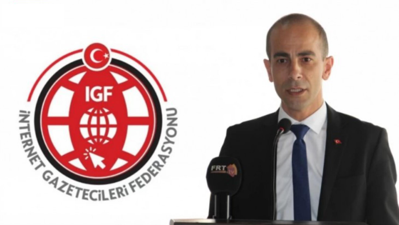 """İGF Genel Başkanı Demir """"Merdiven altı internet haber siteleri engellenmeli"""""""