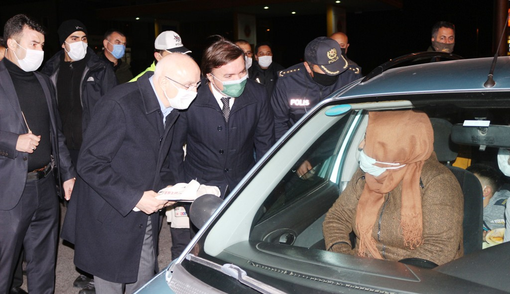 İçişleri Bakan Yardımcısı Erdil, Aksaray'da Trafik Denetimlerine Katıldı