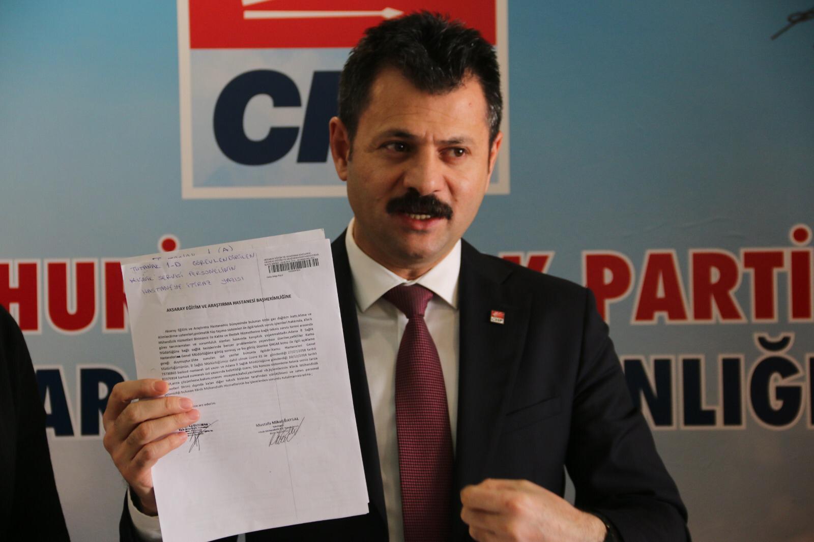 """CHP İl Başkanı Ertürk """"COVID HASTALARINI İHMAL Mİ ÖLDÜRDÜ?"""""""