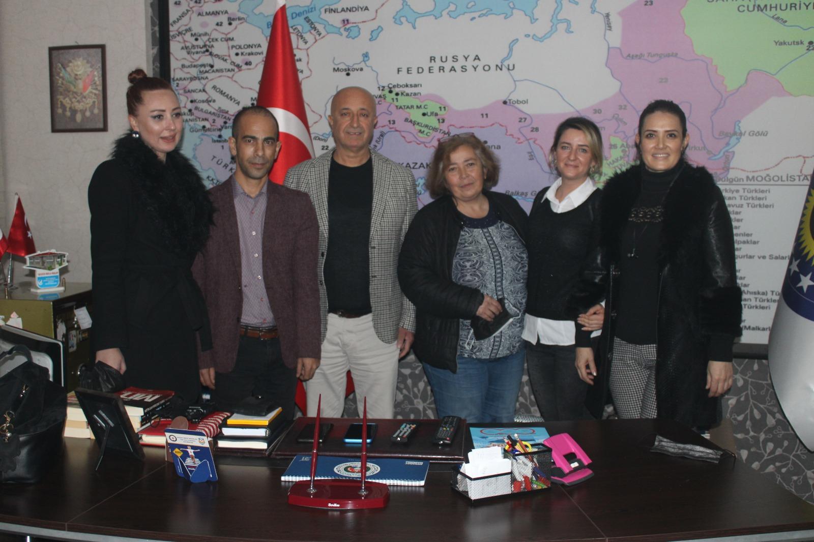 İGF yöneticileri Aksaray'ı ziyaret etti