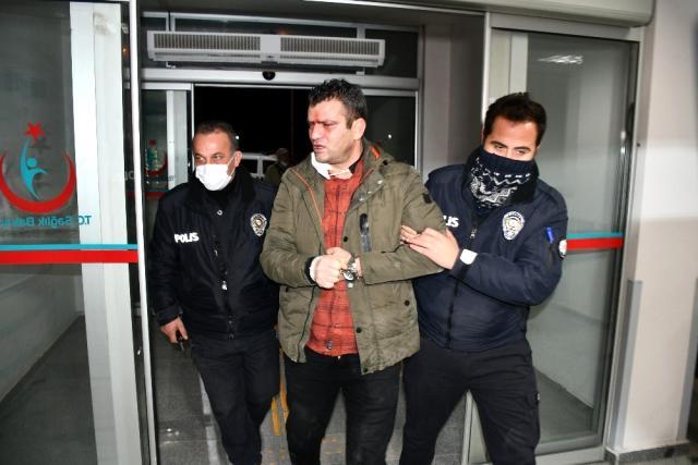 Müdürüm dedi polise küfürler yağdırdı