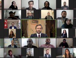 İletişim Başkanı Altun, Avrupa'daki Türk gençlerle buluştu