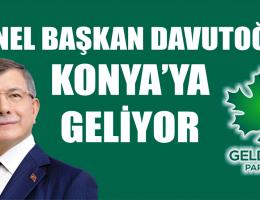 Davutoğlu Konya'ya Geliyor