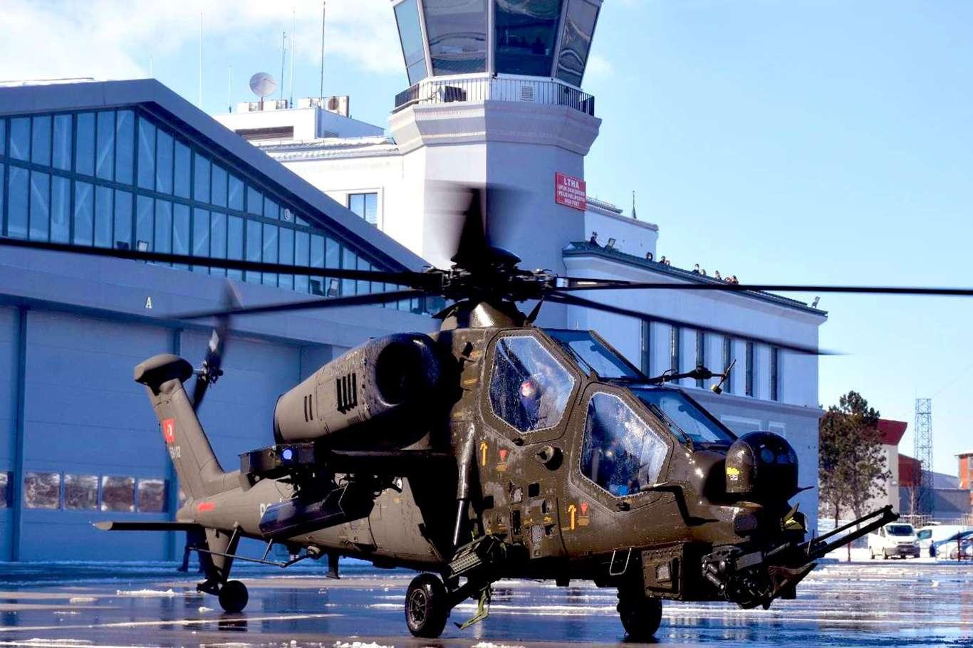 Emniyet Genel Müdürlüğü ilk Atak helikopterini teslim aldı