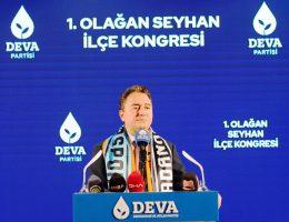 Babacan Deva Partisinin Tarım Politikalarını Anlattı